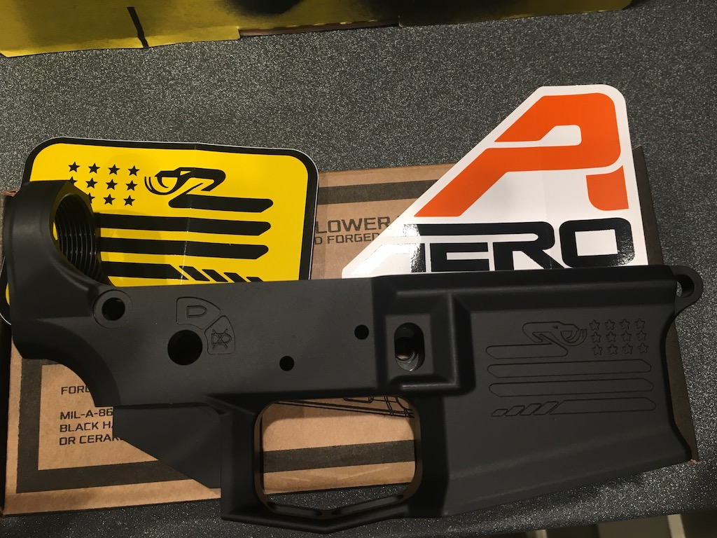 Aero Precision M4E1 Stripped Lower Receiver, Special Edition